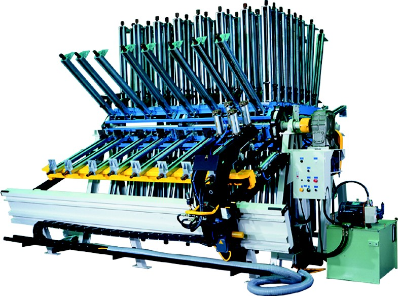 """44"""" x 100"""" 30 SECTIONS AUTO CLAMP CARRIER"""