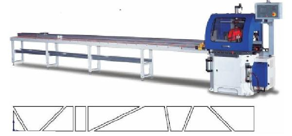 "Auto Programable 8 FT 20"" Adjustable Miter Cut-Off Saw"