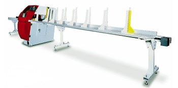 "Auto Push 8 FT 24"" Cut-Off Saw"