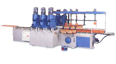 """14"""" x 98"""" 2 Side 6 Heads Copy Shaper with 2 Sander"""