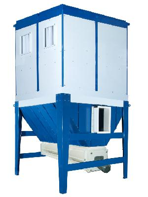 IN-OUT DOOR DUST COLLECTOR 40 HP with Outfeed Auger