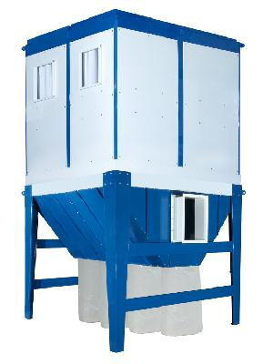 IN-OUT DOOR DUST COLLECTOR 40 HP