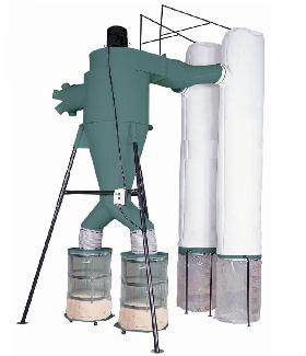 *7.5 HP Two Stage Dust Collector