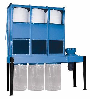 IN - OUT DOOR 20 HP DUST COLLECT SYSTEM