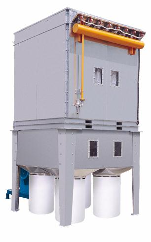 Out Door 30 HP Dust Collector System