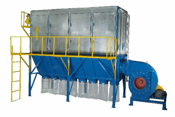 Out Door 50 HP Dust Collector System