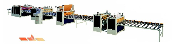 1220MM Paper/PVC Sheet Laminate Machine