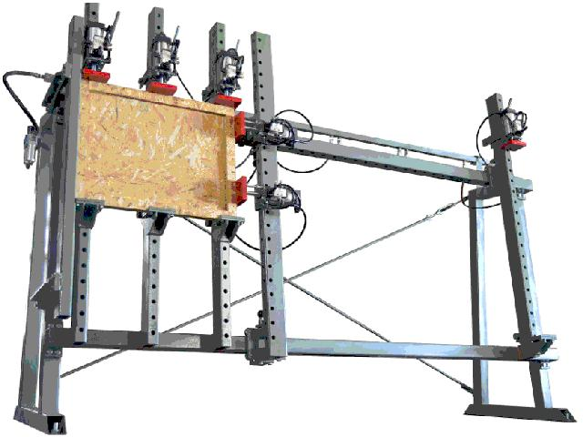 """105"""" x 59"""" Vertical Pneumatic Assembly Table"""
