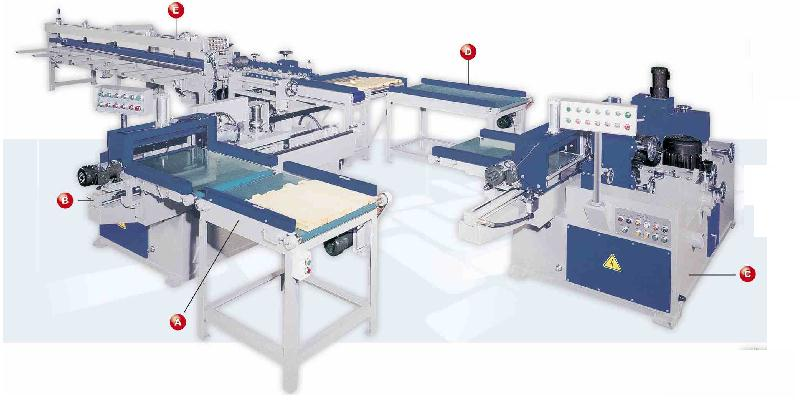 "8"" x 181"" Auto Finger Joint Production Line"