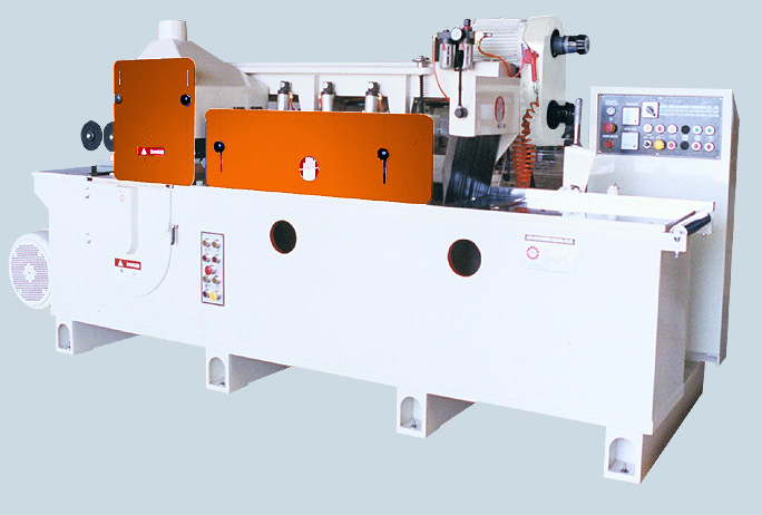 "8"" Top & Bottom Moulder, Multiple Rip Saw"