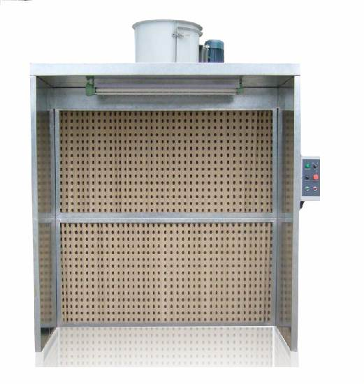 8' Dry Filter Spray Booth
